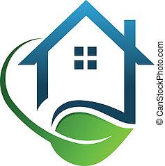 Eco-Haus grün