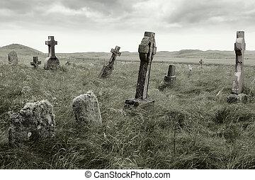 Eerirische Grabstätte