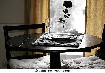 Ehemals Abendessen