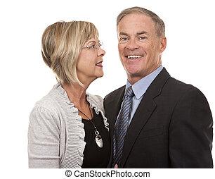 Ehemals reifes Paar