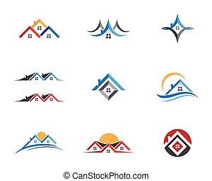 Eigentums-Logo-Vorlage.