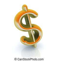 Ein Dollarzeichen