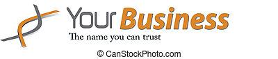 Ein elegantes Geschäfts-Logo