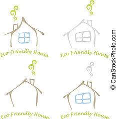 Ein freundliches Haus