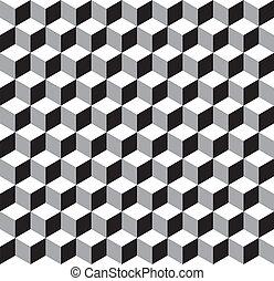 Ein geometrisches Muster.