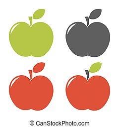 Ein Paar Äpfel