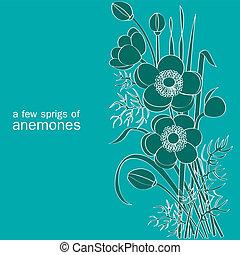 Ein paar Anemones.
