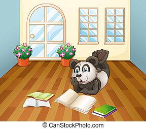 Ein Panda im Haus