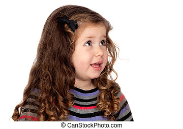 Ein reizendes kleines Mädchen