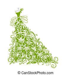 Ein Stück Blumengrün für dein Design