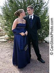 Ein wunderbares junges Paar