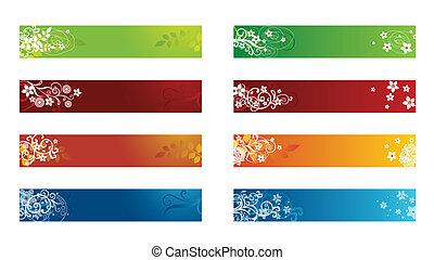 Eine dekorative saisonale Flanke