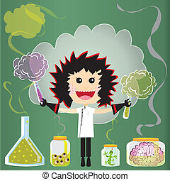 Eine verrückte Geburtstagsparty für Wissenschaftler