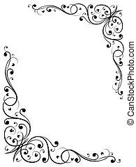 Einfacher abstrakter Blumenstrauß B
