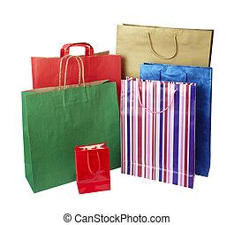 Einkaufstaschen-Verbraucher.