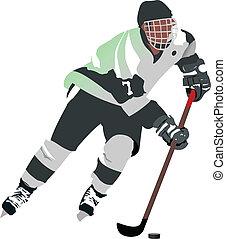 Eishockeyspieler.