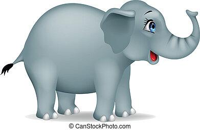 Elefanten-Zeichentrickfilm