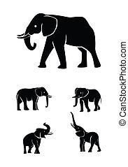 Elefantenset-Sammlung