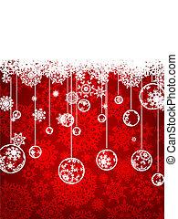Elegante Weihnachtsgeschichte. EPS 8