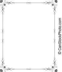 Eleganter Rahmen