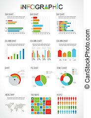 Elemente der Infographics