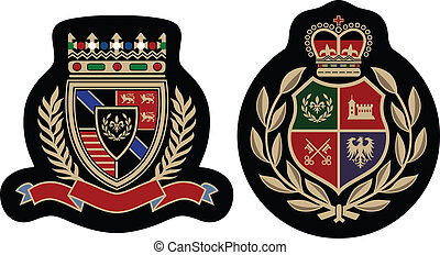emblem, mode, abzeichen