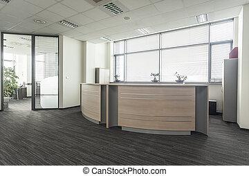 Empfang im Büro