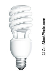 Energiesparlampe, Vektor