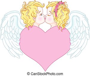 engel, liebe