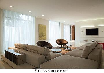 Enormöses Sofa.