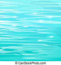 Entfernen Sie den schönen Meeresspiegel