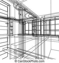 Entfernen Sie die Architektur