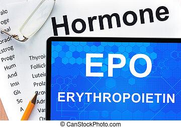 (epo), erythropoietin