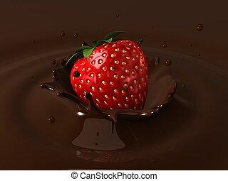 erdbeer, kakau