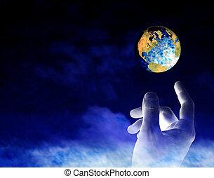 Erde erschaffen.