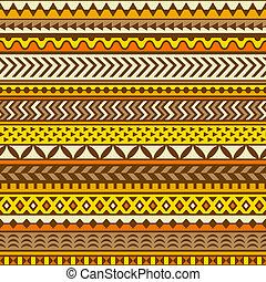 Ethnische Muster. Vector nahtlos Hintergrund.