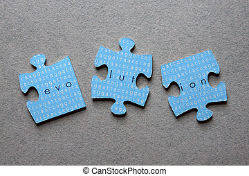 Evolutions-Jigsaw missgestaltet