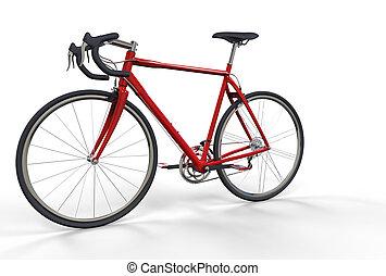 Fahrrad Rot 2.