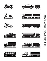Fahrzeug-Ikonen