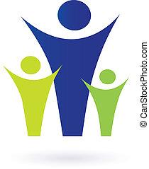 Familien- und Gemeindefoto