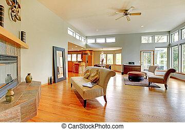 Fantastisches modernes Wohnzimmer.