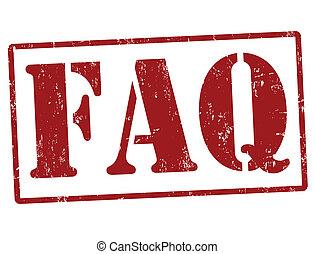 FAQ (Freiheit stellt Fragen) Stempel
