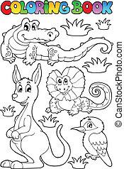 Farbbuch australian Fauna 2