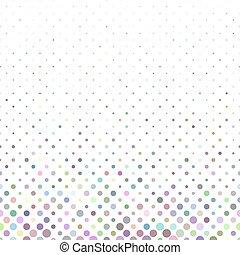 Farbige geometrische Kreismuster Hintergrunddesign.