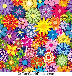Farbiger Blumen Hintergrund