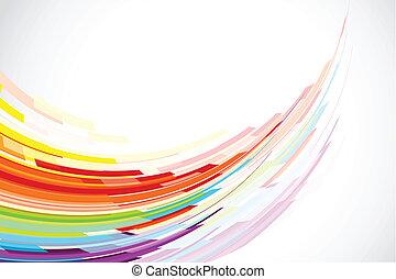 Farbiger Hintergrund.