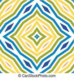 Farbiges Linienmuster. Nahmloser Hintergrund