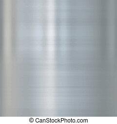 Fein gebürstetes Stahlmetall