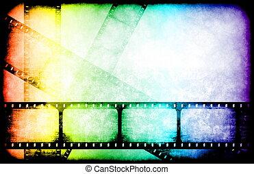 film industrie, spulen, höhepunkt