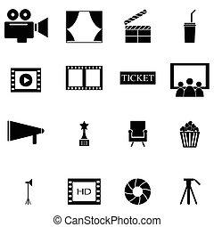 filmsatz, ikone